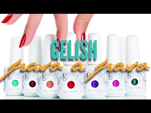Gelish - Paso a paso para principiantes | Hilda Portillo