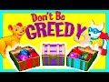 DONT BE GREEDY Family Game with Assistant TheEngineeringFamily Funny Kids Game Video
