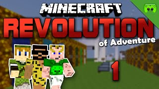 MINECRAFT Adventure Map # 1 - Revolution of Adventure «» Let