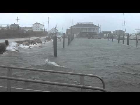 Sandy hits Block Island