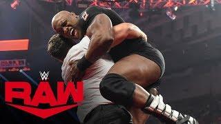 After divorcing Lana, Rusev slams Lashley through a table: Raw, Dec. 19, 2019 thumbnail