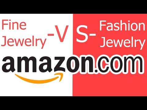 Amazon Jewelry Categories - Fine Jewelry versus Fashion Jewelry - How To Categorize  - MY MISTAKE