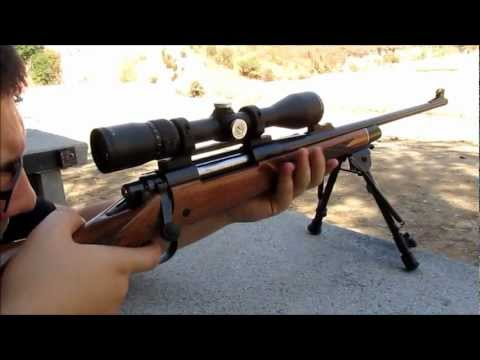 Remington 700 BDL Shooting and Cleaning
