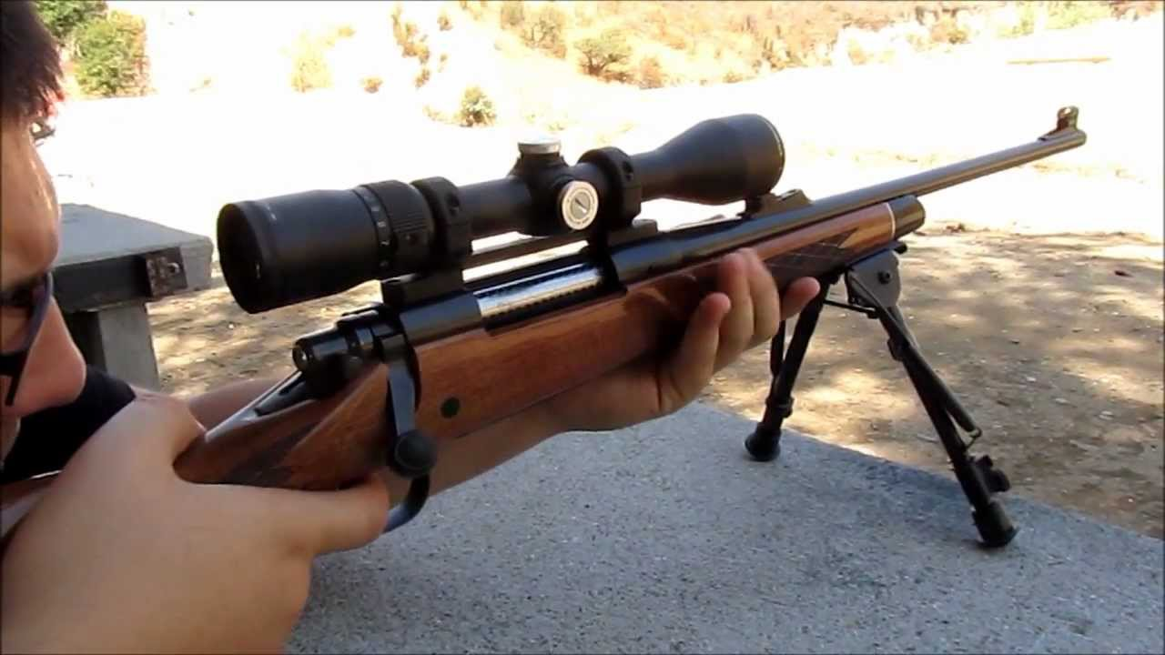 Remington 700 Bdl Shooting And Cleaning Youtube