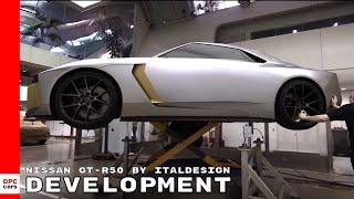 видео Nissan и Italdesign создали уникальный суперкар