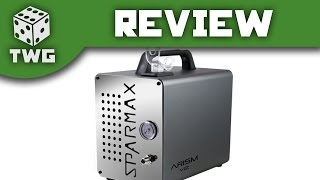 Airbrush Review: Sparmax Airism Viz Compressor Unboxing