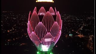 Opening of the Lotus Tower