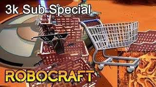 Robocraft: 3k SUB SPECIAL | Shopping Cart FRENZY!!!
