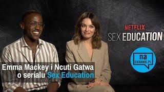 Emma Mackey i Ncuti Gatwa o serialu Sex Education