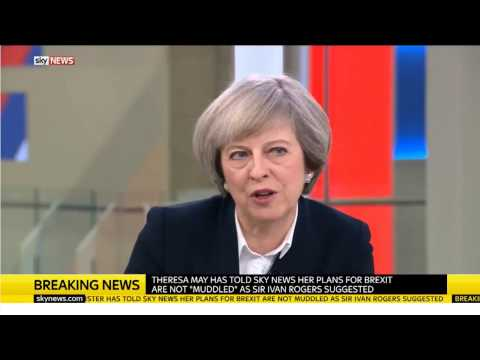 Theresa May's First 2017 Interview plus Boston clip