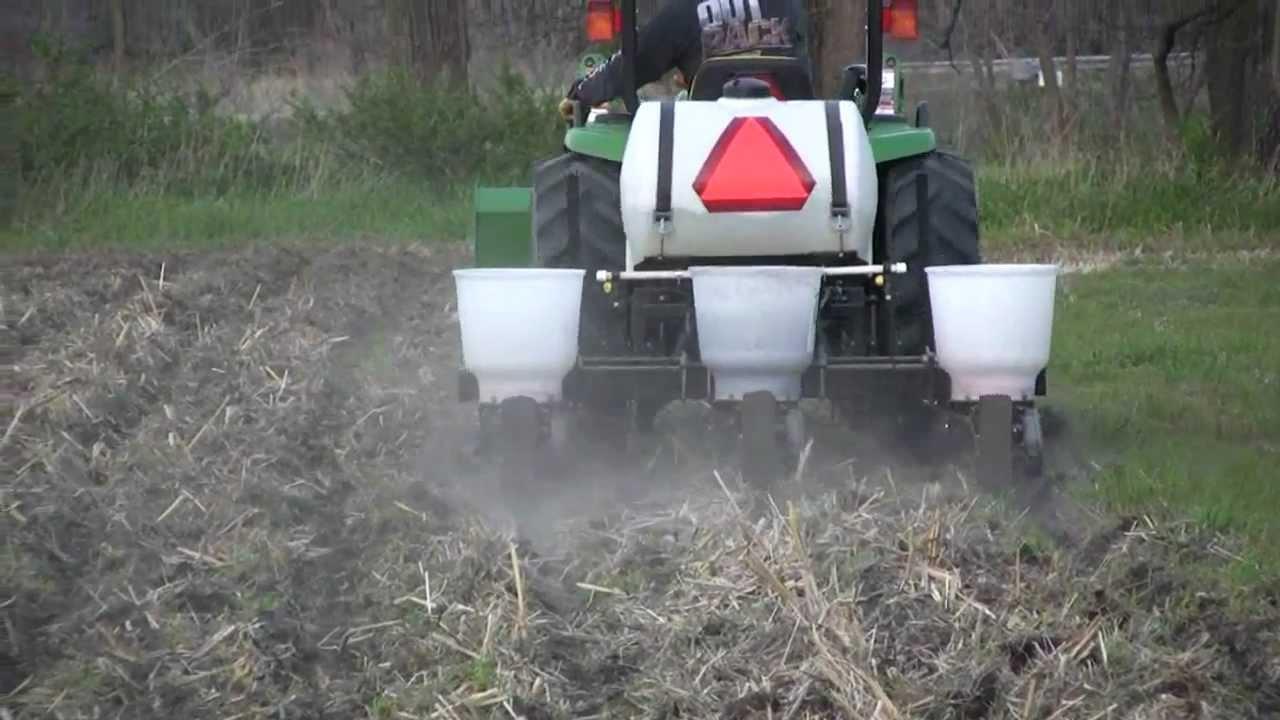 Food Plot Planter - Food Plot Planter - YouTube