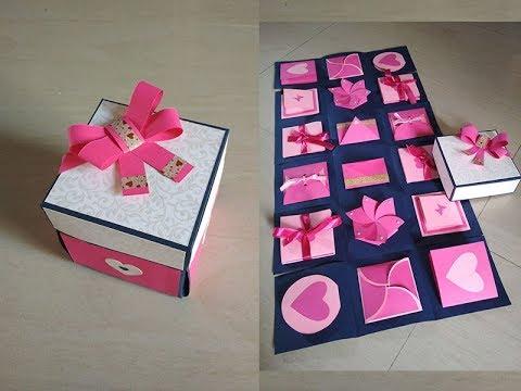 Infinity explosion box tutorial by Sheetal Khajure- Arty Hearty