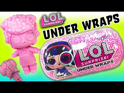 LOL Surprise Dolls Unbox Underwraps! Featuring Thrilla, Glitter Queen Bee, Super BB, And Unicorn!