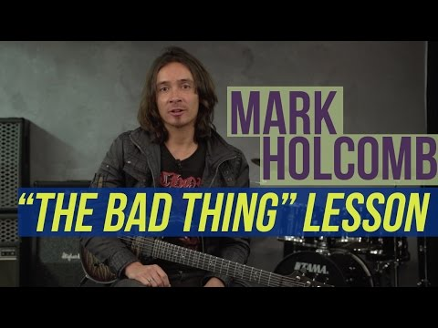 "Periphery's Mark Holcomb - ""The Bad Thing"" Riff Lesson"
