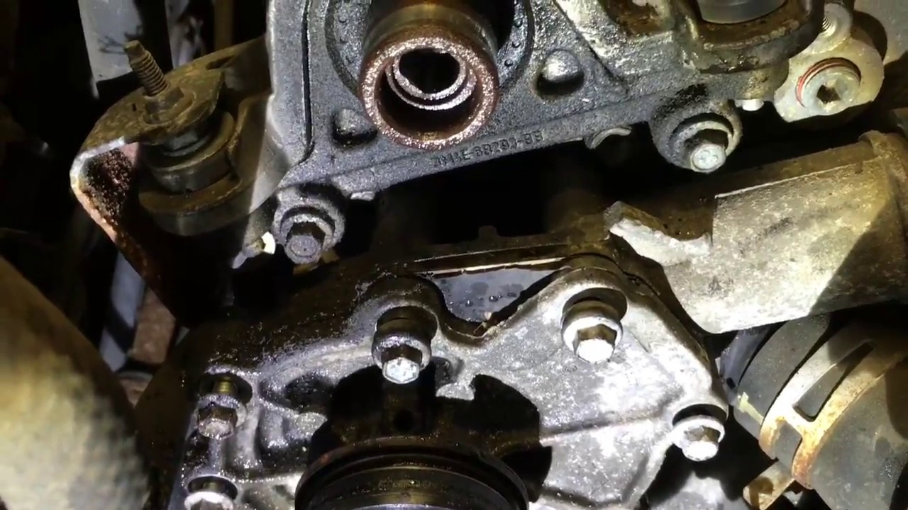 2005 mazda 6 water pump 3 0 youtube