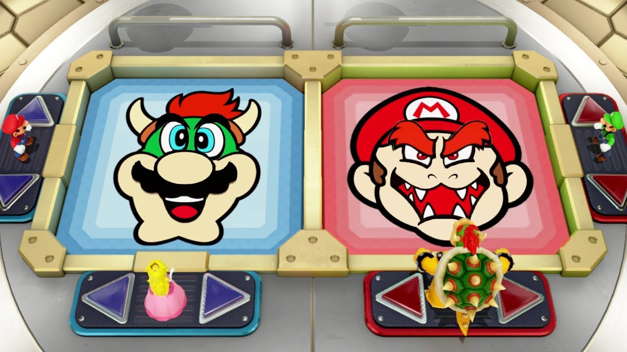 Super Mario Party - All 2-vs-2 Minigames
