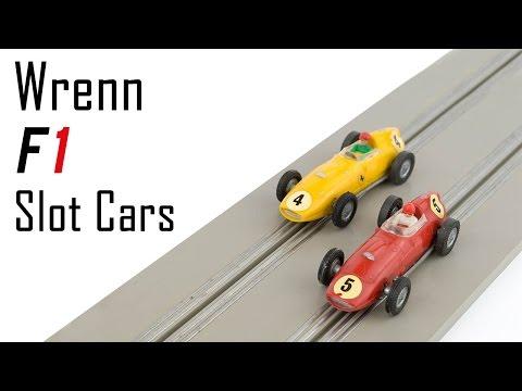 Unboxing The Wrenn Formula 152 Racing Slot Car Set
