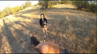 First Person Shooter View, Cyborg Dove Hunt Frisco Texas
