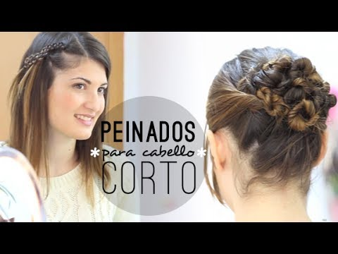 Peinados Faciles Para Cabello Corto Youtube