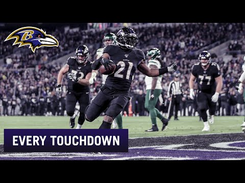 Every Ravens Touchdown 2019 Season | Baltimore Ravens