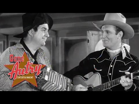 Gene Autry - Be Honest With Me (from Ridin' On A Rainbow 1941)