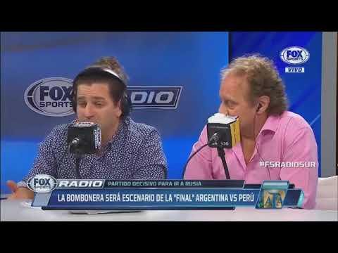 Fox Radio 12 Septiembre 2017 ¿Perú tiembla? La Bombonera será la sede parA Argentina vs Pe