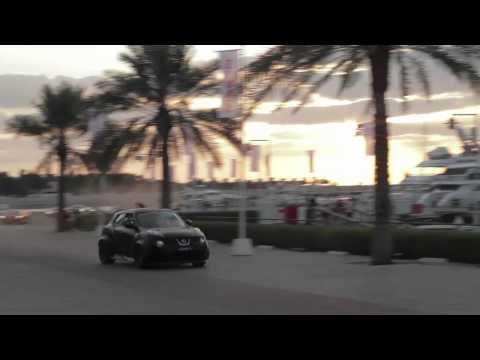 JUKE-R Street Race in Dubai