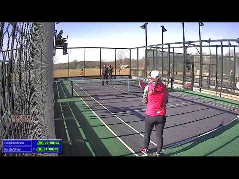 2018 Philly Open Women's Paddle Final: Cruz/Niculescu vs. Dardis/Shay