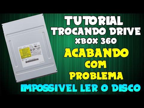 Trocando Drive Do Seu XBOX 360 - SOLUÇÃO DE PROBLEMAS PARA