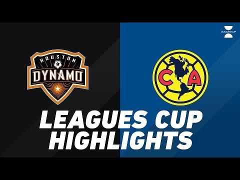 Houston Dynamo Vs. Club América   HIGHLIGHTS - July 24, 2019