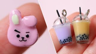 8 Polymer Clay + Resin Miniature DIY Crafts | Tutorial Compilation