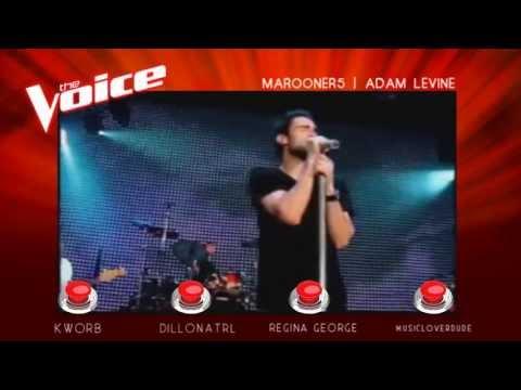 The Voice Of ATRL - Blind Auditions -  Adam Levine