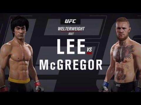 UFC 2 Брюс Ли Vs Конор МакГрегор