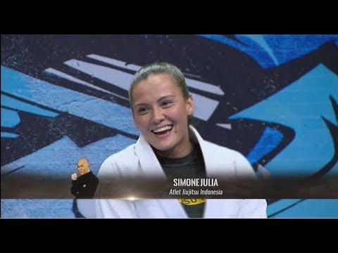 Simone Julia, Atlet Ju-Jitsu Cantik Mantan Aktris | HITAM PUTIH (22/11/18) Part 3