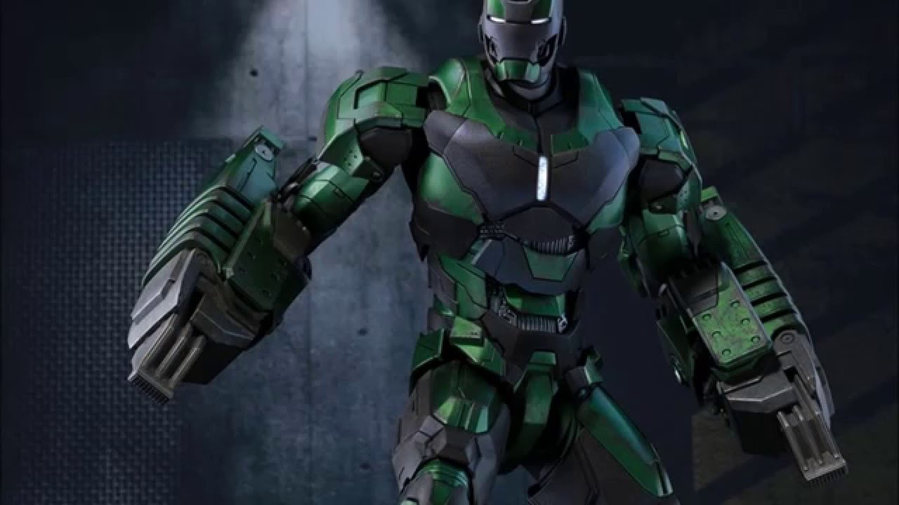 Iron Man Mark 26 Gamma 3 Mark25 Striker Hot Toys 25