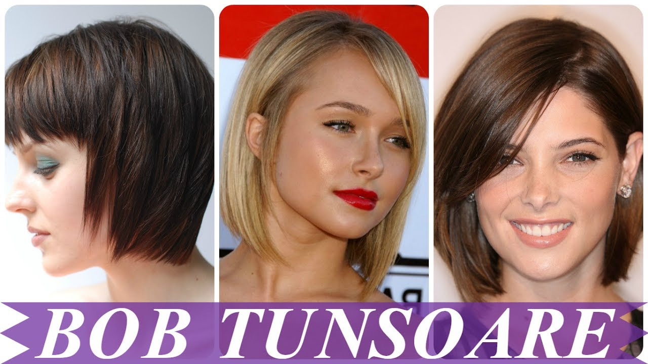 Modele De Tunsori Bob Clasic Youtube