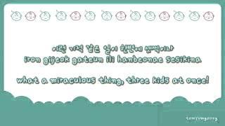 Song Triplets' theme song 😃 #DaehanMingukManse (credit to tomyumgoong)