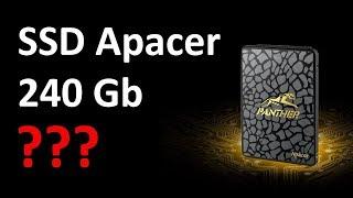 "SSD диск Apacer 2.5"" AS340 240 Гб SATA III TLC AP240GAS340G-1"