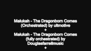 Malukah - The Dragonborn comes - The Ultimate Mashup (Malukah & Wolfgang duet + Orchestration)