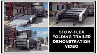 Motorhome Trailer - Stow Flexx Folding Car Trailer Demonstration