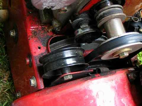Replace Auger Belt Drive Snow Er Craftsman 24 Inch