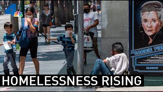 Homelessness Continues to Rise in Los Angeles County | NBCLA