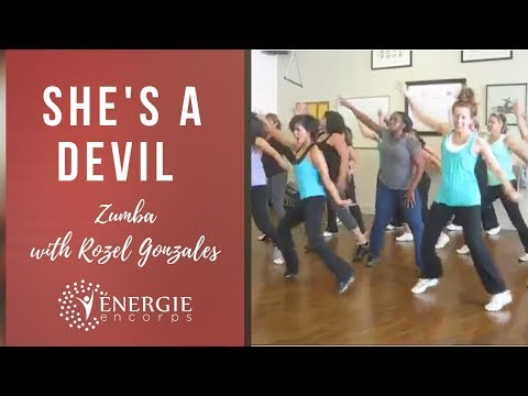 She's A Devil - Zumba with Rozel - West Island (MONTREAL)