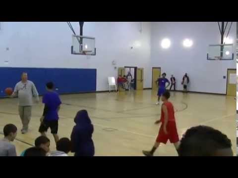 Caleb Allen All Star Basketball Game 8th grade Lake Marion Creek 2014