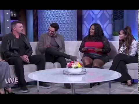 "Tom Welling & Tom Ellis on ""The Real Daytime"" (Feb 26, 2018)"