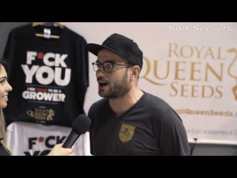 Indica Sativa Trade 2017 - Interview Royal Queen Seeds - Italy Cannabis Event