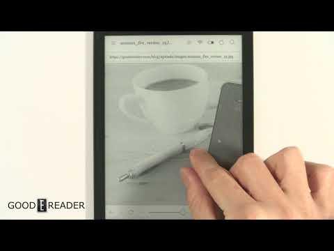 Kobo Aura One -  Internet Browsing Experience