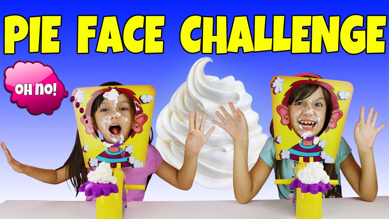 PIE FACE CHALLENGE - YouTube