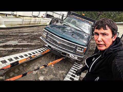 Достал из Грязи Прогнивший Chevrolet