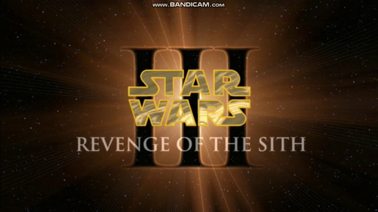 Opening To Star Wars Episode Iii Revenge Of The Sith 2005 Dvd Full Screen Version Youtube